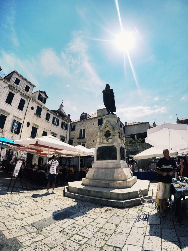 how to get to istria from split