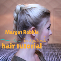 Margot Robbie Inspired Hair Tutorial